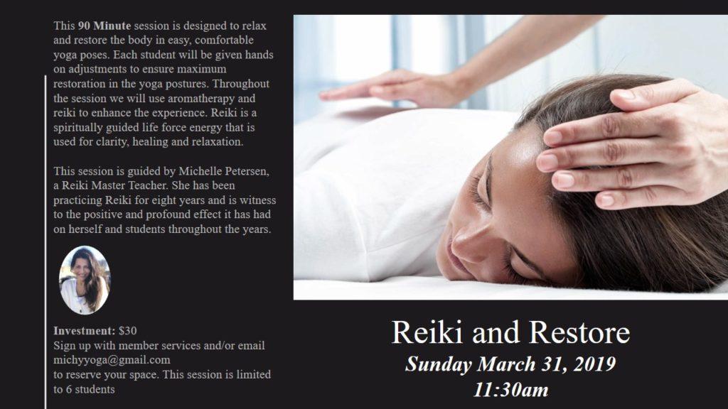 Reiki and Restore