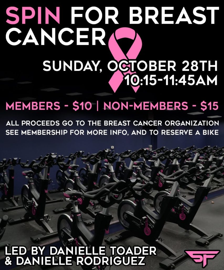 Spin for Breast Cancer