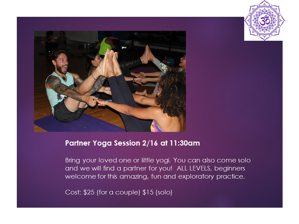 Patner Yoga Session